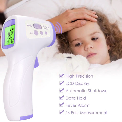 AHOME7 Non Contact Infrared Adult/Baby Forehead Digital Temperature Measurement