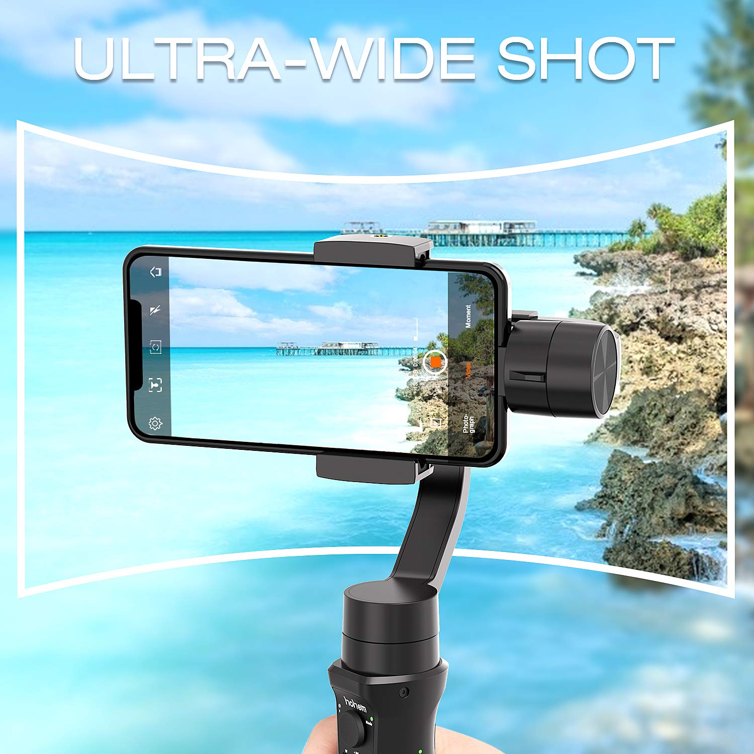 [🎉50% off🎉Only today] handheld gimbal mobile phone stabilizer-For iPhone/Ahdorid