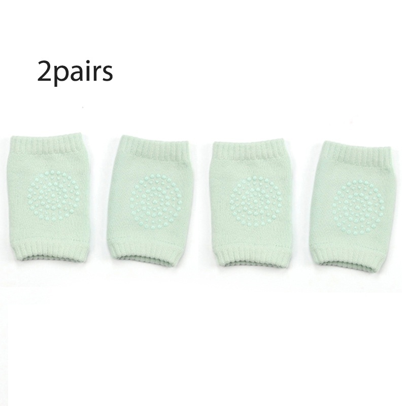 1pair/2pairs/3pairs Baby Safety Breathable Crawling Knee Pad Breathable Comfortable Unisex Kids Knee Protector Anti-Slip Socks Leg Warmer For Children Toddler Knee Protector
