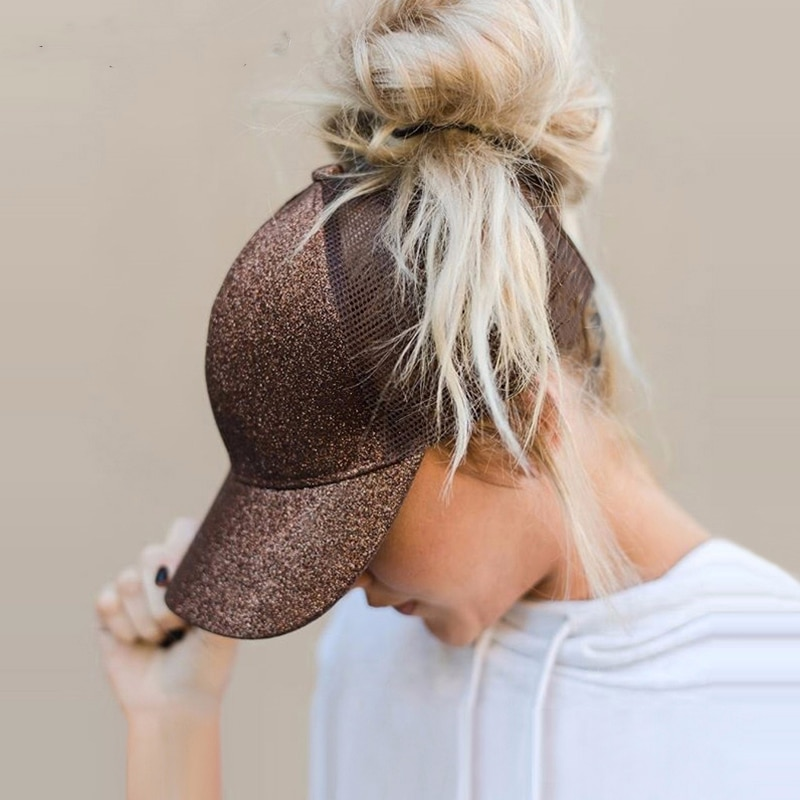iBoyce Super Comfy Ponytail Baseball Cap/Suitable for sports, shopping, leisure