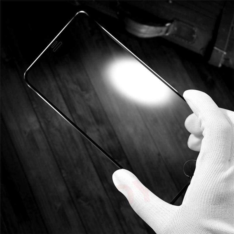 6D Tempered Glass Full Coverage Screen Protector Film for For IPhone 6 6s 7 8 6Plus 6sPlus 7Plus 8Plus X 10 Protective Case Glass Verre Tremp¨¦