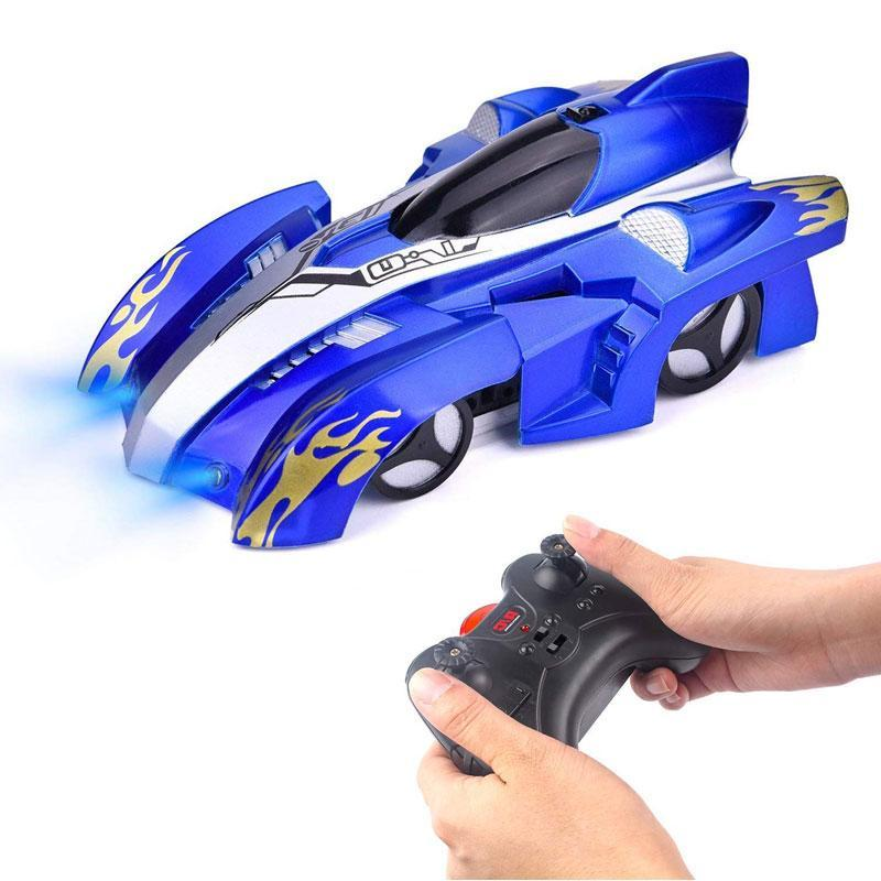 Gravity Defying Wall-Climbing 360 Degree Rotating Remote Control Car