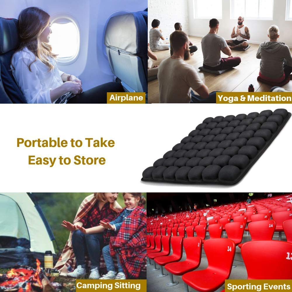 5D Air Bag Seat Cushion Decompression Breathable