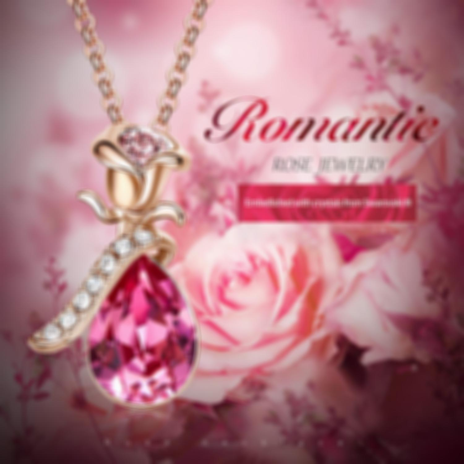18K Rose Gold Necklace Plated Jewelry--💖buy 2 free shipping💖