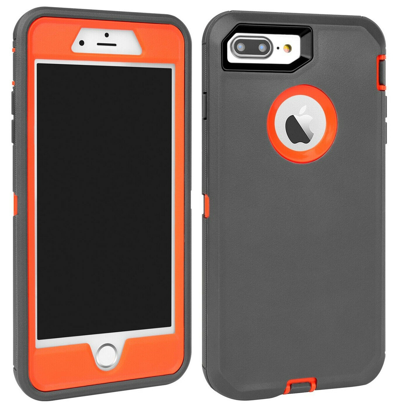 Heavy Duty Protective Armour Builder Protective Defender Case Cover for IPhone XS MAX XR XS IPhone 8 8Plus 7 7Plus 6 6S Plus IPhone 5 5S SE