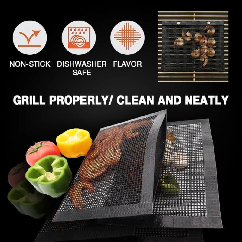Reusable Non-Stick BBQ Mesh Grill Bags📢50% OFF