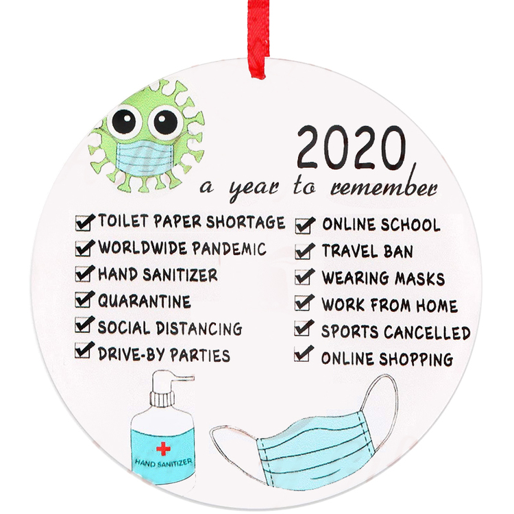 🎄2020 Annual Events Christmas Ornament🎄