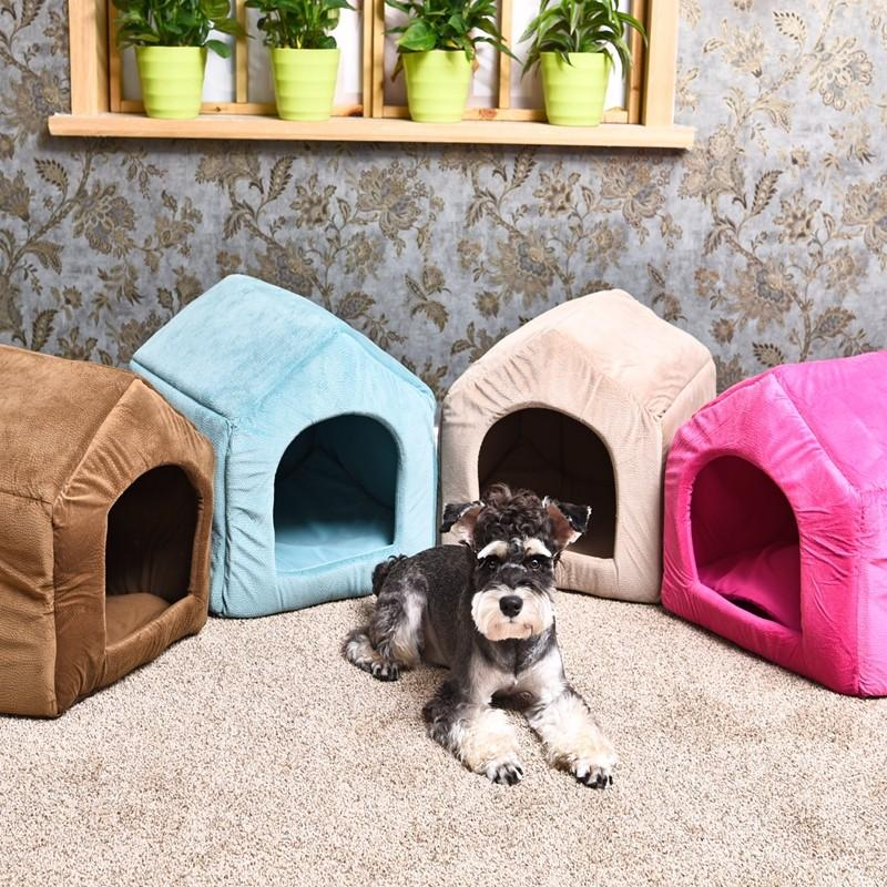 '2 in 1' Cozy Dog Bed & Kennel