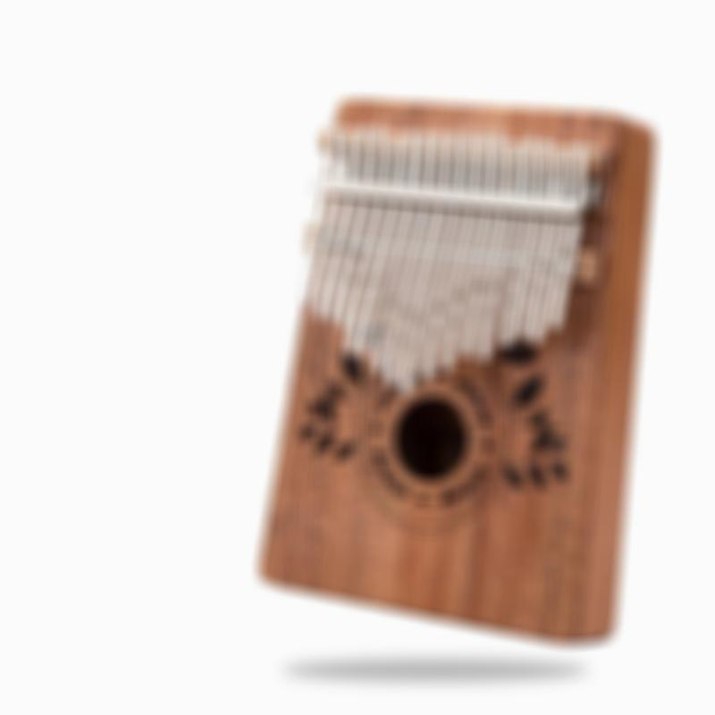 Arosetop HOT SALE!!! 17 Keys Kalimba-George Thumb Piano Finger Piano Therapy Musical Instrument