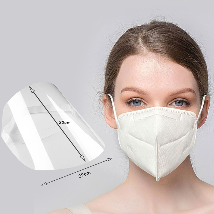 Thickened HD Full-Cover Anti-Droplets Face Shield