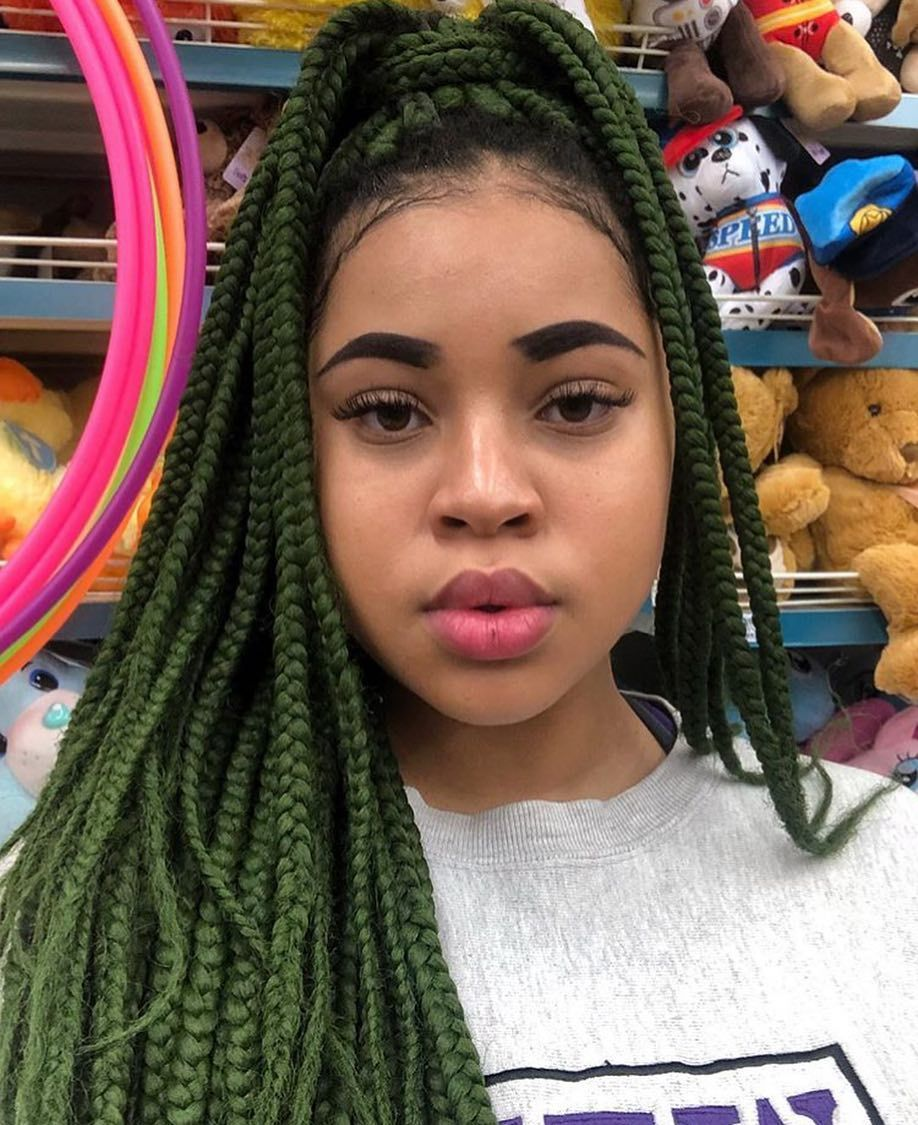 Best Braiding Hairstyles African American Hair 715 Store Hairdo Wigs Medium Box Braids With Color Bridal Hairstyle