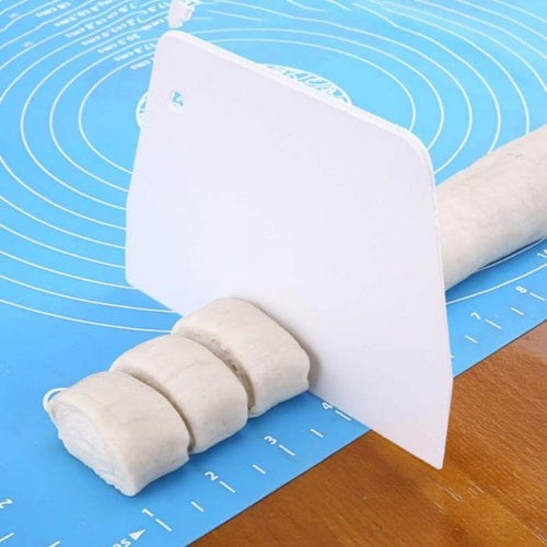 SKRTEN Non-Stick Silicone Mat 19.69 x 15.75 inch for Dough Rolling Kneading