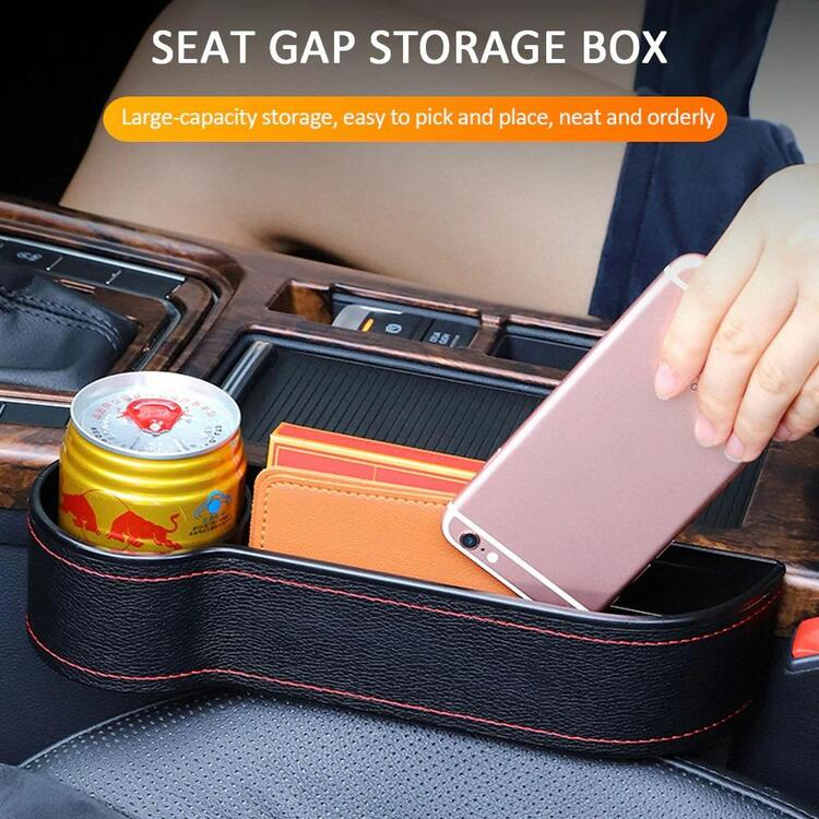 (Last Day Promotion 50% OFF-Arrival in 3-7 days) Multifunctional Car Seat Organizer