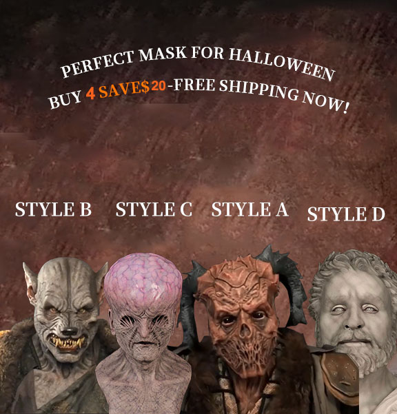 2020 NEW-The Best Silicone Mask-4 Types(Buy2 Free shipping)