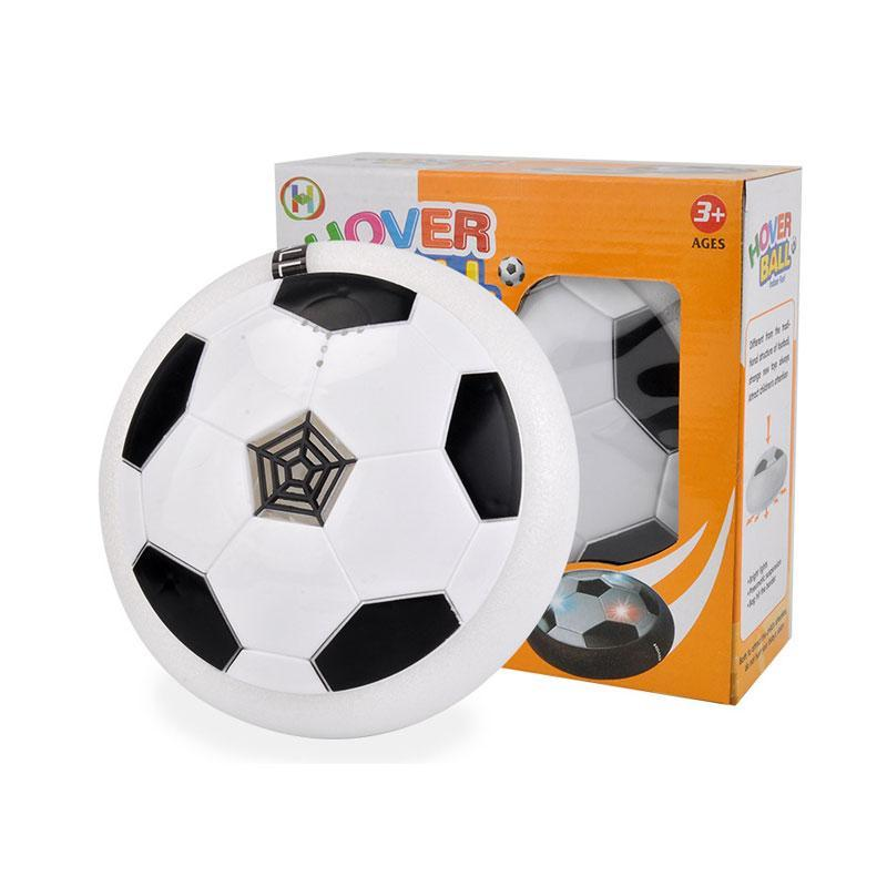 SKRTEN LED Lighted Music Air Hover Soccer Ball Toy for Outdoor/Indoor Activity