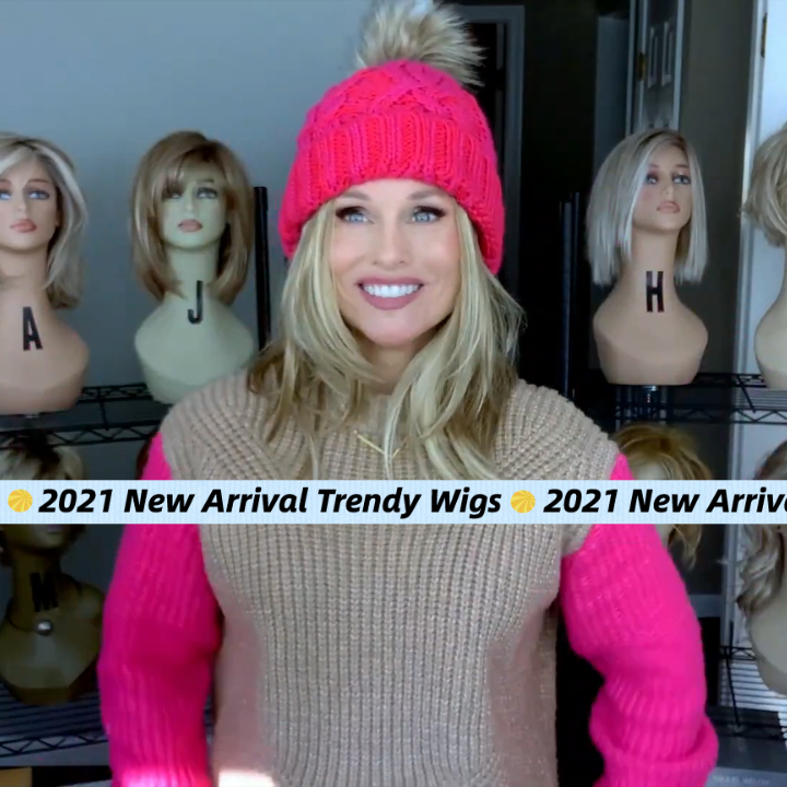 💖2021 New Arrival Long Straight Wig【Free Style】