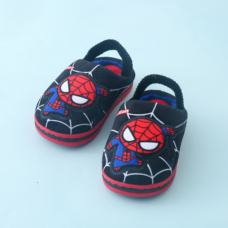 Children cartoon cotton slippers