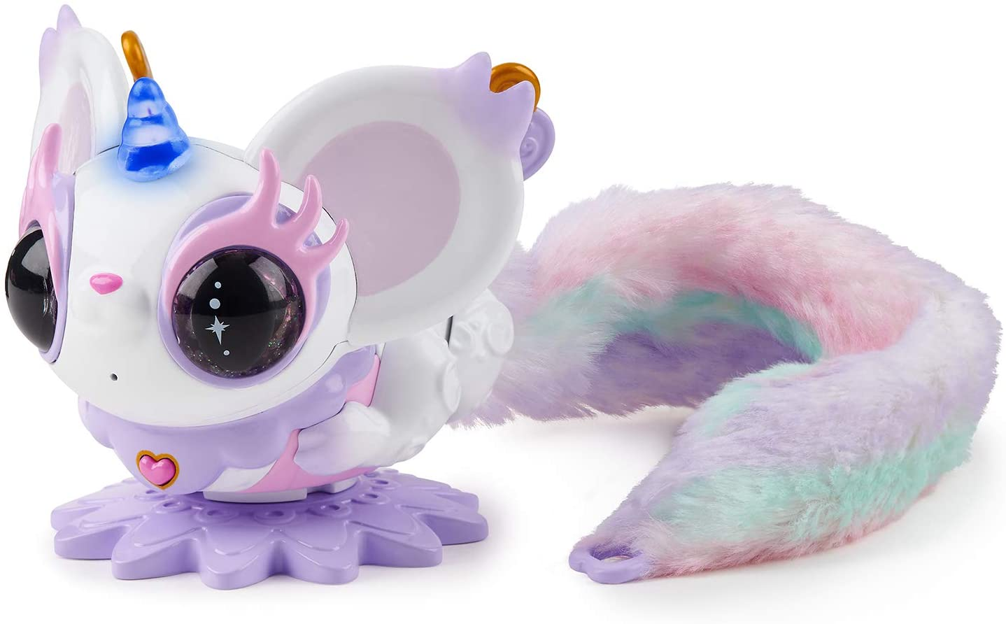 Mouse over the picture to enlarge the picture Pixie Belles interactive magic animal toy, Esme (white)