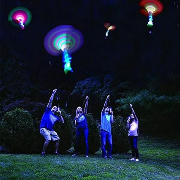 💥Early Summer Hot Sale 50% OFF💥 LED Helicopter Shooters