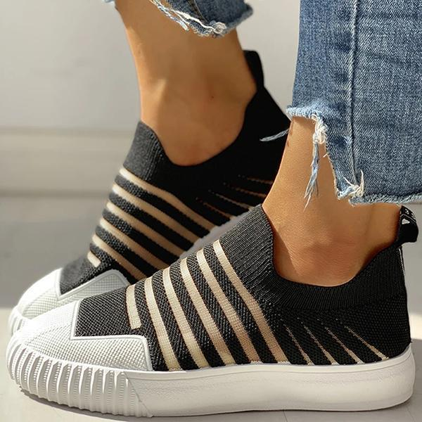 Lemmikshoes Hollow Out Patchwork Casual Sneakers