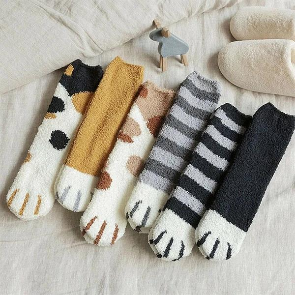 Copy of Cat Paw Indoor Socks【Buy two get one free】