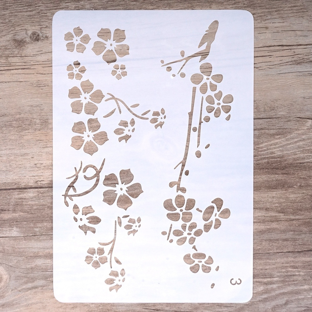 17 by 26 cm DIY Craft  Stencils for DIY Scrapbooking  Stamping Album Crafts Decorative Paper Cards