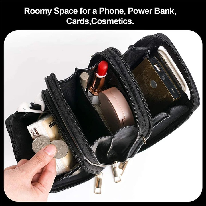 🎉2021 Hot Sale 50% OFF🎉 Multi-Compartment Phone Purse With Clear Window