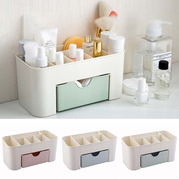 1PC Practical Women Plastic Makeup Case Cosmetic Lipstick Perfume Holder Organizer Box