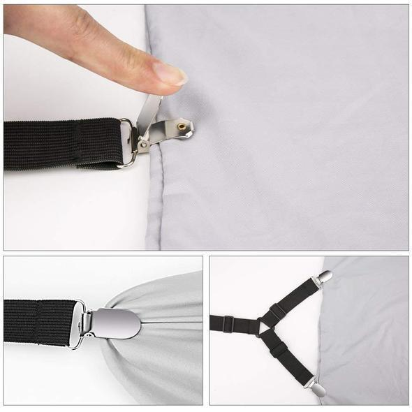 Bed Sheet Fasteners-60% OFF TODAY