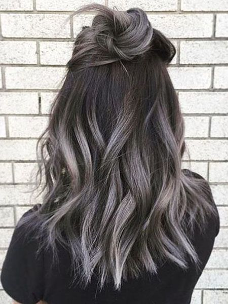 2020 New Gray Hair Wigs For African American Women Gray Hair Touch Up Gray Highlights Jasmine Wig African American Gray Human Hair Wigs Raggedy Ann Wig