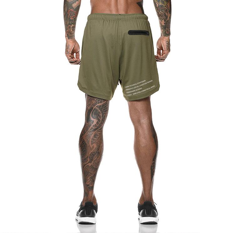BUY 2 FREE SHIPPING-2019 Men's 2 in 1 New Summer Secure Pocket Shorts