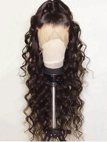 Lace Front Black Wig black grandma wig black Lace hair wigs cheap