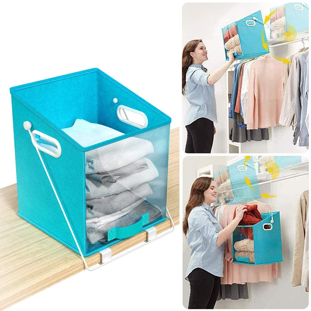Pull Down Foldable Storage