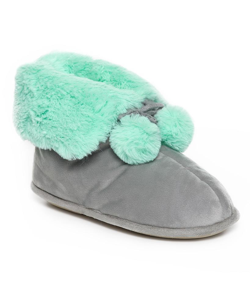 Luxurious Plush Bootie Slippers