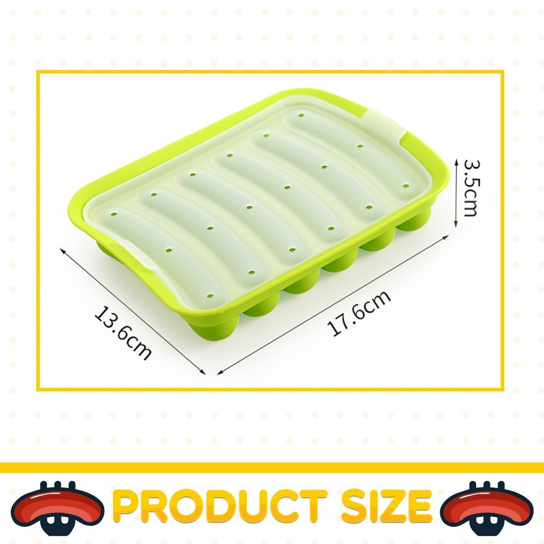 Silicone Sausage Mold--buy 3 free shipping