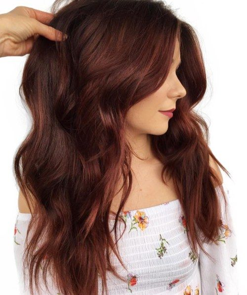 Lace Frontal Wigs Red Hair Multi Color Lace Front Wigs Chasty Wig Colors 2019 Braid Hairstyles Burgundy Red Hair Free Shipping