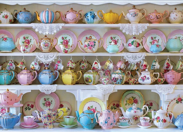 Mad Hatter's Tea Party 1000PCS