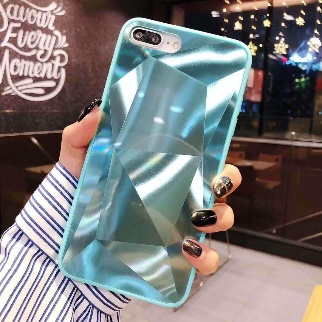 2019[SamSung]Luxury fashion diamond glitter mirror Samsung case