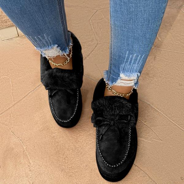 Lorinstyle Casual Fashion Flat Boots