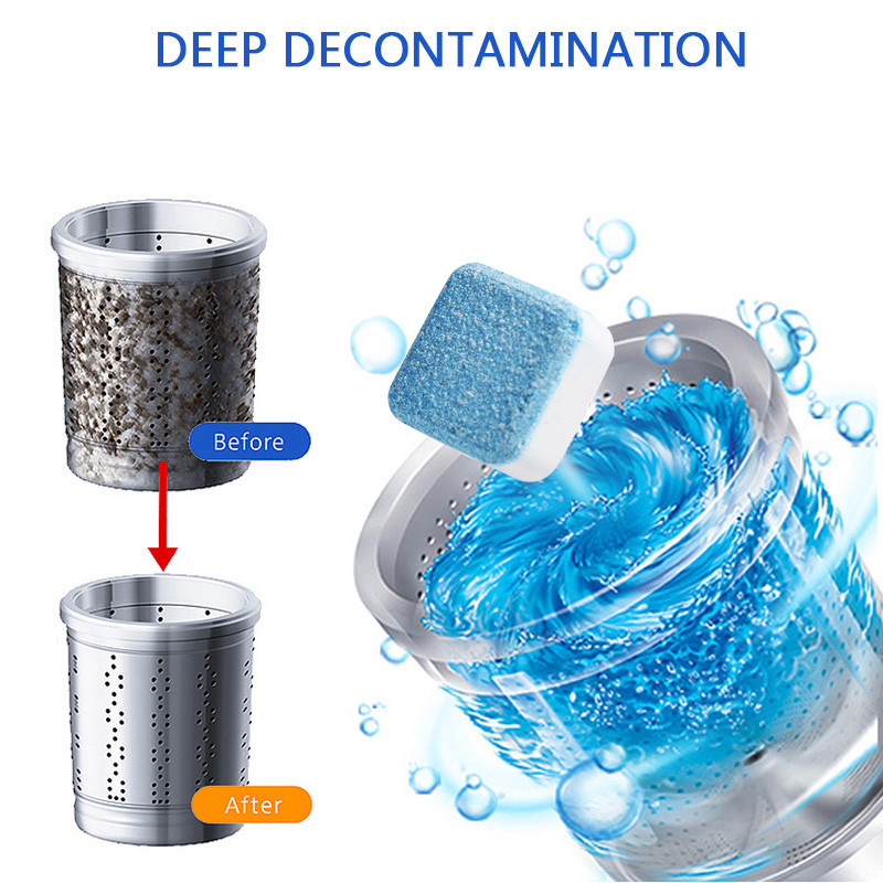 【BUY MORE SAVE MORE】Washer Deep Cleaning Effervescent Tablet