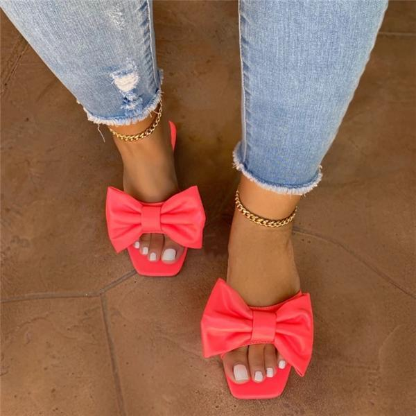 Twinklemoda Cute Bow Sandals