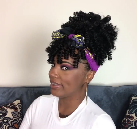 New Short Wave Curly Wig