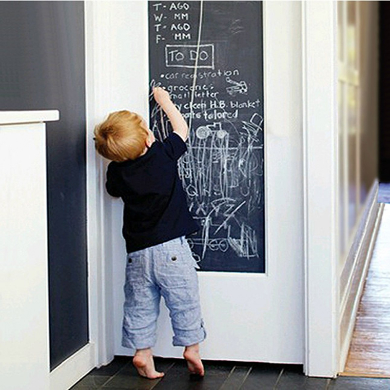 Magical magnetic blackboard sticker