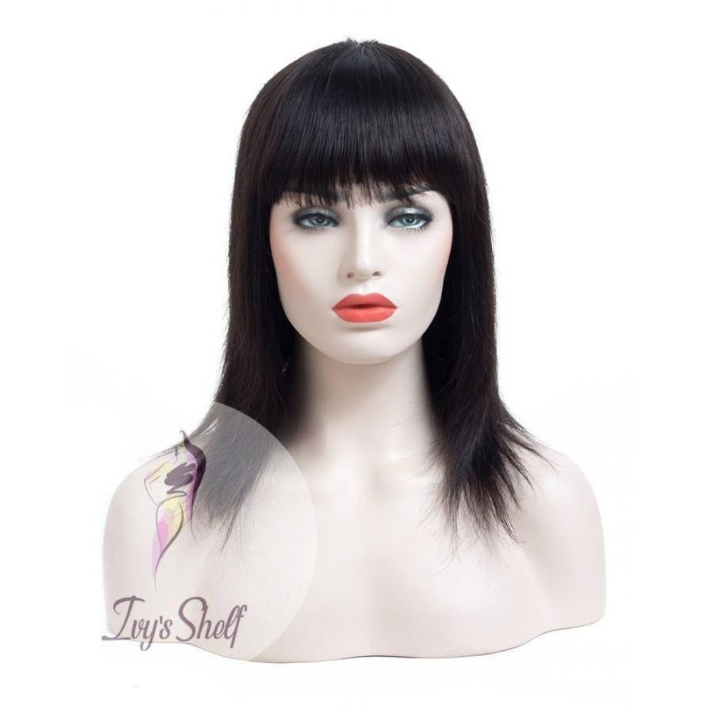 2020 New Straight Wigs Black Long Hair Middle Part Bob Wigs Platinum Blonde Lace Front Wig With Dark Roots