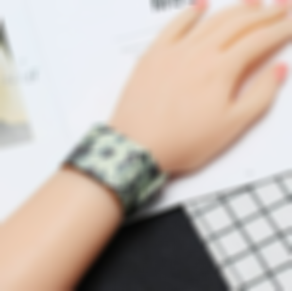 Lightweight Waterproof Digital Paper Watch with Magnetic System