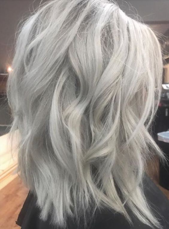 2020 New Gray Hair Wigs For African American Women Grey Lace Front Wig Redhead Wig Brown Bob Wig Water Wave Bob Vip Wigs