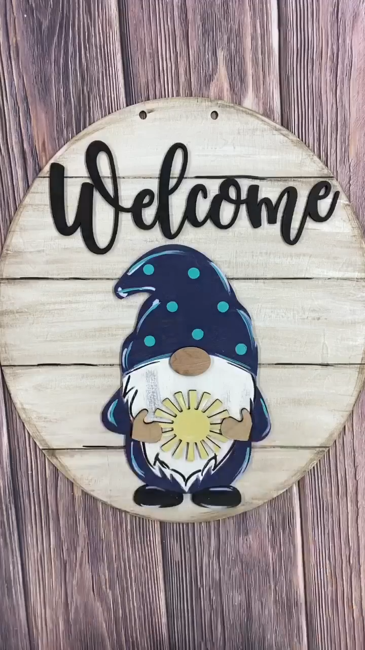 💥Early Summer Hot Sale 50% OFF💥   Gnome Door Hanger Set - Buy 2 Get Free Shipping