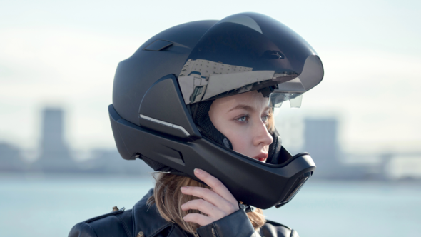Yfanswy™2020 NEW SMART MOTORCYCLE HELMET(Universal automatic adjustment for men and women)