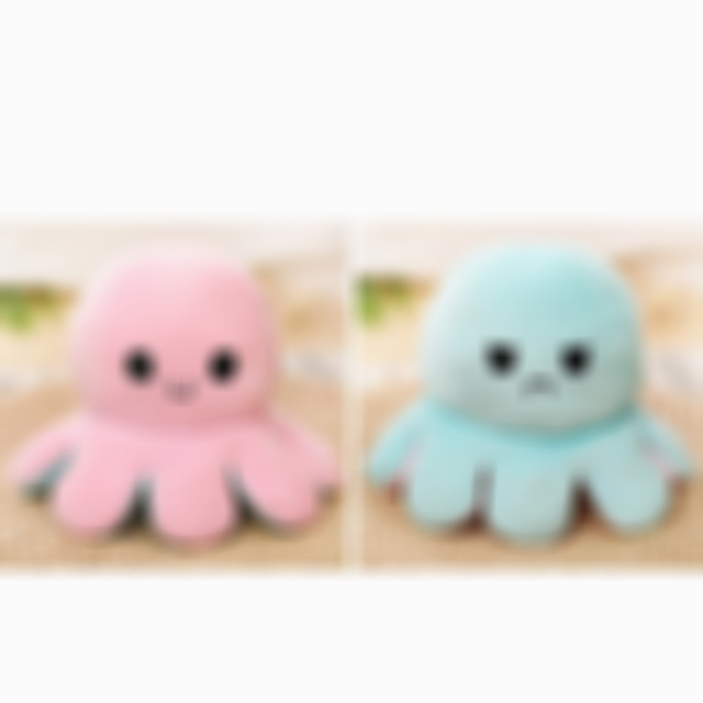 Doublesided Flip Octopus Doll