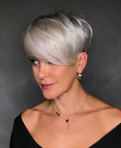 Lace Lace Gray Wigs Hair Blue Gray WigAfrican American Gray Human Hair Wigs